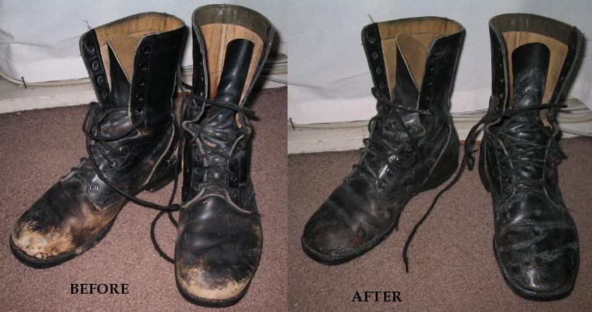 Get Water Out Of Leather Shoes
